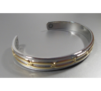 Медный браслет с магнитами 0161SG